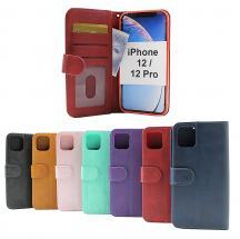 billigamobilskydd.se Zipper Standcase Wallet iPhone 12 / 12 Pro (6.1)