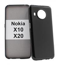 billigamobilskydd.se TPU-suojakuoret Nokia X10 / Nokia X20