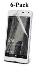billigamobilskydd.se Kuuden kappaleen näytönsuojakalvopakett Microsoft Lumia 650