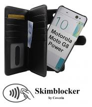 CoverIn Skimblocker XL Magnet Wallet Motorola Moto G8 Power