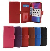 billigamobilskydd.se New Jalusta Lompakkokotelo Xiaomi Redmi Note 7