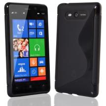 billigamobilskydd.se S-Line TPU-muovikotelo Nokia Lumia 820