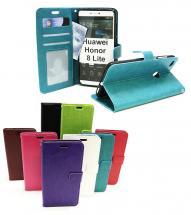 billigamobilskydd.se Crazy Horse Lompakko Huawei Honor 8 Lite
