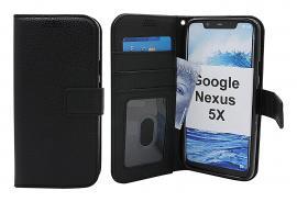 billigamobilskydd.se New Jalusta Lompakkokotelo Google Nexus 5X (H791)