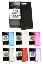billigamobilskydd.se S-Line TPU-muovikotelo Sony Xperia XZ Premium (G8141)