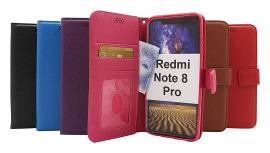 billigamobilskydd.se New Jalusta Lompakkokotelo Xiaomi Redmi Note 8 Pro