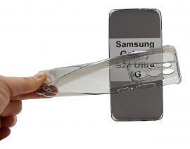 billigamobilskydd.se Ultra Thin TPU Kotelo Samsung Galaxy S21 Ultra 5G (G998B)