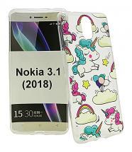 billigamobilskydd.se TPU-Designkotelo Nokia 3.1 (2018)