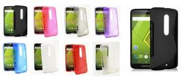billigamobilskydd.se S-Line TPU-muovikotelo Motorola Moto X Play