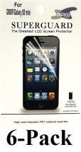 billigamobilskydd.se Kuuden kappaleen näytönsuojakalvopakett Samsung Galaxy S5 Mini (G800)