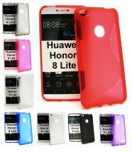 billigamobilskydd.se S-Line TPU-muovikotelo Huawei Honor 8 Lite