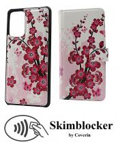 CoverIn Skimblocker Design Magneettilompakko Samsung Galaxy A72 (A725F/DS)
