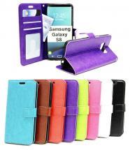 billigamobilskydd.se Crazy Horse Lompakko Samsung Galaxy S8 (G950F)