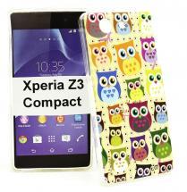 billigamobilskydd.se TPU-Designkotelo Sony Xperia Z3 Compact (D5803)