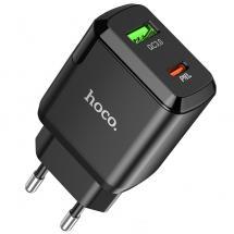 Hoco Hoco N5 Dual Seinälaturi Seinäsovitin