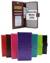 billigamobilskydd.se Crazy Horse Lompakko Motorola Moto G50