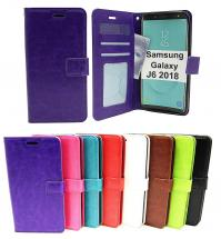 billigamobilskydd.se Crazy Horse Lompakko Samsung Galaxy J6 2018 (J600FN/DS)