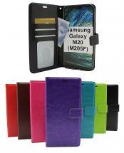billigamobilskydd.se Crazy Horse Lompakko Samsung Galaxy M20 (M205F)