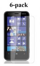 billigamobilskydd.se Kuuden kappaleen näytönsuojakalvopakett Nokia Lumia 620