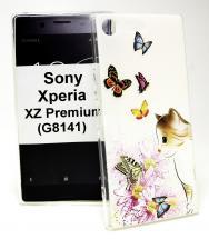billigamobilskydd.se TPU-Designkotelo Sony Xperia XZ Premium (G8141)