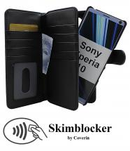 CoverIn Skimblocker XL Magnet Wallet Sony Xperia 10
