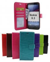 billigamobilskydd.se Crazy Horse Lompakko Nokia 8.3