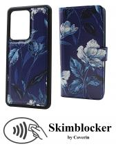 CoverIn Skimblocker Design Magneettilompakko Samsung Galaxy S20 Ultra (G988B)