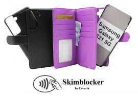 CoverIn Skimblocker XL Magnet Wallet Samsung Galaxy S21 5G (G991B)
