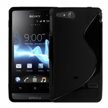 billigamobilskydd.se S-Line TPU-muovikotelo Sony Xperia Go (st27i)