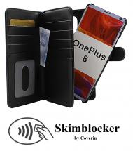 CoverIn Skimblocker XL Magnet Wallet OnePlus 8
