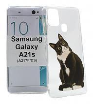 billigamobilskydd.se TPU-Designkotelo Samsung Galaxy A21s (A217F/DS)
