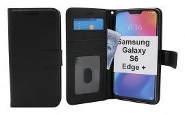 billigamobilskydd.se New Jalusta Lompakkokotelo Samsung Galaxy S6 Edge+ (SM-G928F)