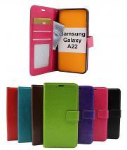 billigamobilskydd.se Crazy Horse Lompakko Samsung Galaxy A22 (SM-A225F/DS)
