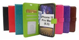 billigamobilskydd.se Crazy Horse Lompakko iPhone 11 Pro Max (6.5)