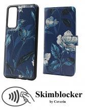 CoverIn Skimblocker Design Magneettilompakko Huawei P Smart 2021