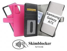 CoverIn Skimblocker Magneettikotelo Samsung Galaxy A72 (A725F/DS)