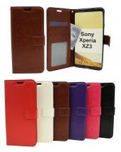 billigamobilskydd.se Crazy Horse Lompakko Sony Xperia XZ3