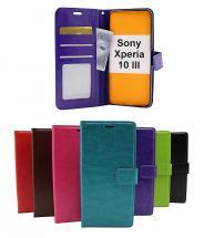 billigamobilskydd.se Crazy Horse Lompakko Sony Xperia 10 III (XQ-BT52)