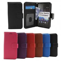 billigamobilskydd.se New Jalusta Lompakkokotelo Sony Xperia X Compact (F5321)