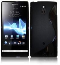 billigamobilskydd.se S-Line TPU-muovikotelo Sony Xperia P (LT22i)