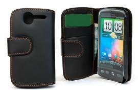 CoverIn Lompakkokotelot HTC Desire, svart