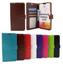 billigamobilskydd.se Crazy Horse Lompakko Samsung Galaxy A10 (A105F/DS)