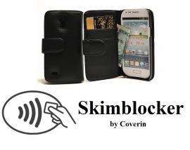 billigamobilskydd.se Skimblocker Lompakkokotelot Samsung Galaxy S4 Mini (i9195/i9190)