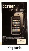 billigamobilskydd.se Kuuden kappaleen näytönsuojakalvopakett Nokia Lumia 625