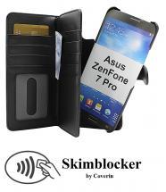CoverIn Skimblocker XL Magnet Wallet Asus ZenFone 7 Pro (ZS671KS)