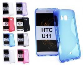 billigamobilskydd.se S-Line TPU-muovikotelo HTC U11