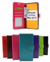 billigamobilskydd.se Crazy Horse Lompakko iPhone 13 Pro Max (6.7)