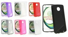 billigamobilskydd.se S-Line TPU-muovikotelo Lenovo Motorola Moto Z Play