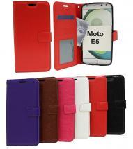 billigamobilskydd.se Crazy Horse Lompakko Motorola Moto E5 / Moto E (5th gen)