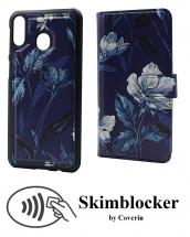 billigamobilskydd.se Skimblocker Design Magneettilompakko Samsung Galaxy M20 (M205F)